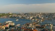 View to Golden Horn from Galata tower. Istanbul, Turkey