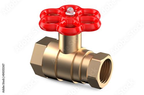 Photo  red valve