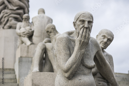 Vigeland Statue Park in Oslo, Norway