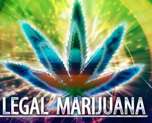 Legal Marijuana Abstract Conce...
