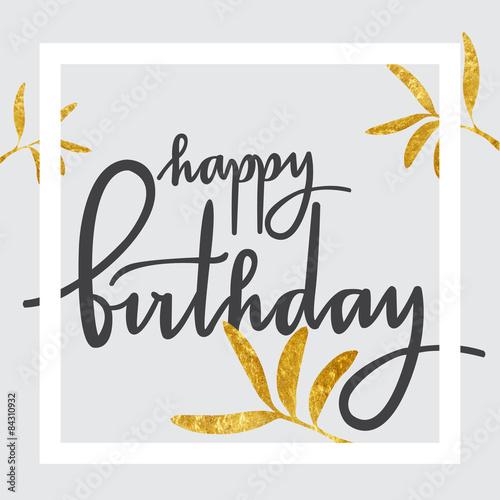 Photo  Birthday greeting card