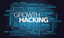 Growth Hacking Words Tag Cloud Marketing Text