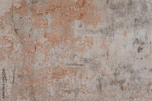Foto auf AluDibond Alte schmutzig texturierte wand Texture. Wall. A background with attritions and cracks