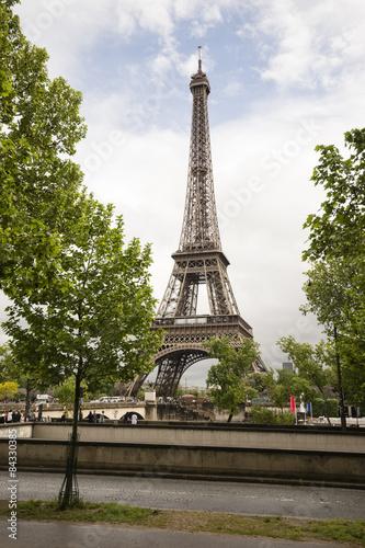 Printed kitchen splashbacks Eiffel Tower