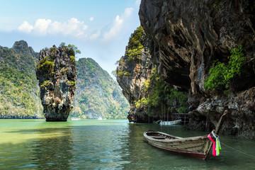 Obraz na Plexi Do łazienki James Bond island, Thailand