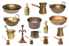 Collection Of Isolated Vintage...
