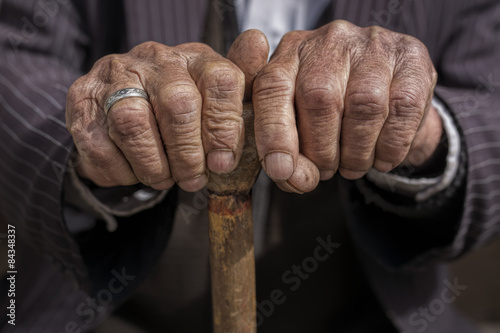 Old Man Hands