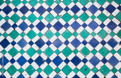Papiers peints Maroc Oriental mosaic in Morocco, North Africa