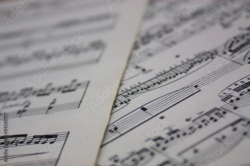 Poster Kranten Bring Back The Music - Sheet Music