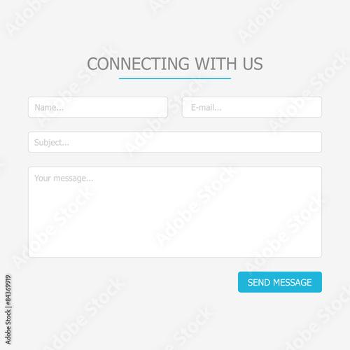 Fotografía  Web feedback form
