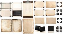 Old Paper Sheets, Book, Vintag...