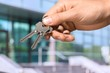 Key, Real Estate, Human Hand.