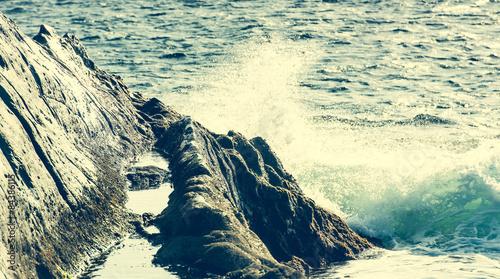 cliffs on the coast - 84386115