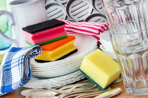 Fotografia  Küchengeschirr - Abwasch