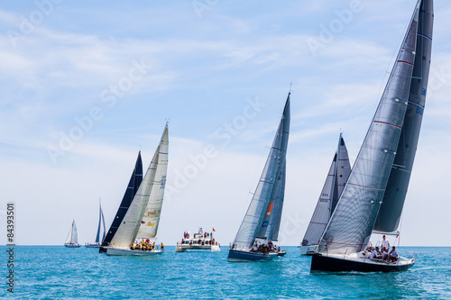 Fotografie, Obraz  SAMUI REGATTA 2015, THAILAND - MAY 30 : Event at Chaweng beach ,