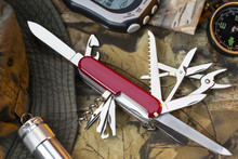 Swiss Army Style Knife - Great Outdoors