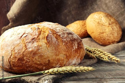 fototapeta na szkło bochenek chleba