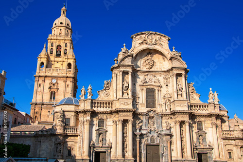 Cathedral Church of Saint Mary in Murcia, Spain