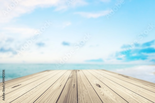 Background, pier, dock.