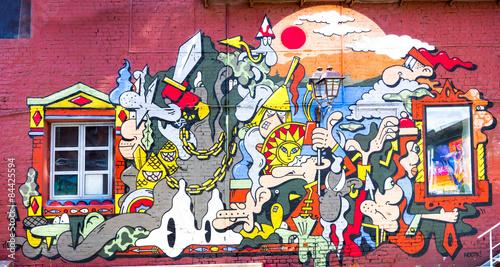 Poster Graffiti Graffiti wall urban art