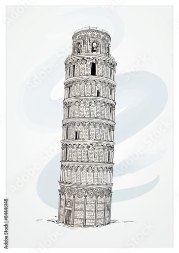 Cuadros en Lienzo Leaning Tower of Pisa