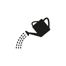 The Watering Can Icon. Irrigat...