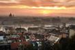 Sunrise cityscape Budapest Hungary