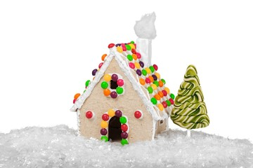 Gingerbread, heap, decoration.