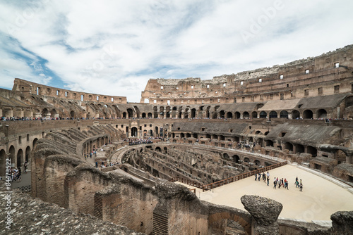 Interior Coliseo Romano Buy This Stock Photo And Explore Similar