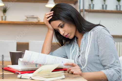 Fotografia  Preparation for university exams