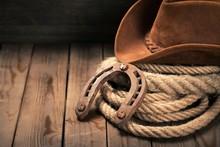 Cowboy, Rodeo, Hat.