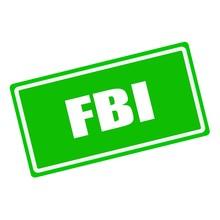 FBI White Stamp Text On Green ...