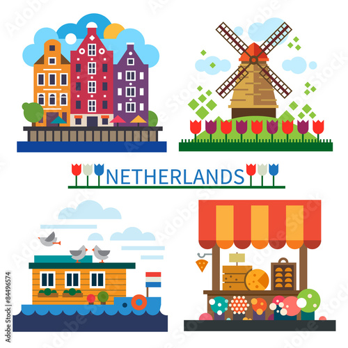 Photo  Welcome to Netherlands