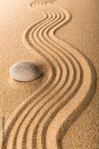Foto op Plexiglas Stenen in het Zand Abstract, balance, buddhism.