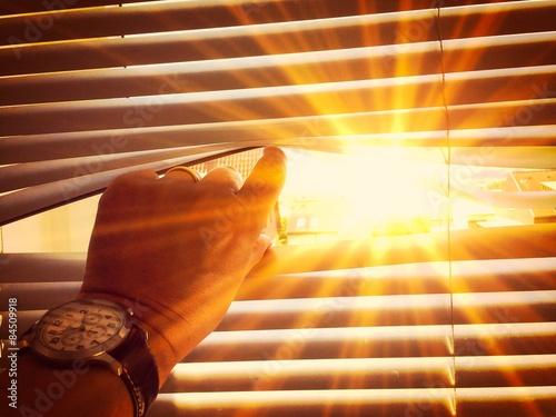 Fotografie, Obraz  Warm sun on midday