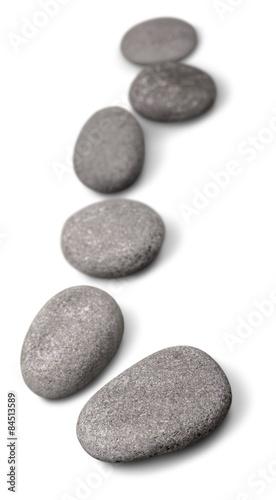 Pinturas sobre lienzo  Stone, Zen-like, Pebble.