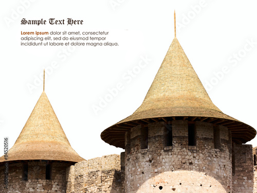 Papiers peints Fortification Fort tower