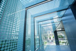 Leinwanddruck Bild - glass roof