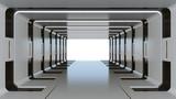 Fototapeta Fototapety do przedpokoju - Futuristic tunnel