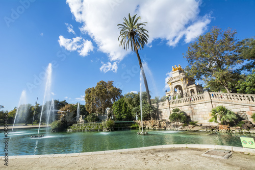 The Cathedral of the Holy Cross and Saint Eulalia, Barcelone, Sp Canvas Print