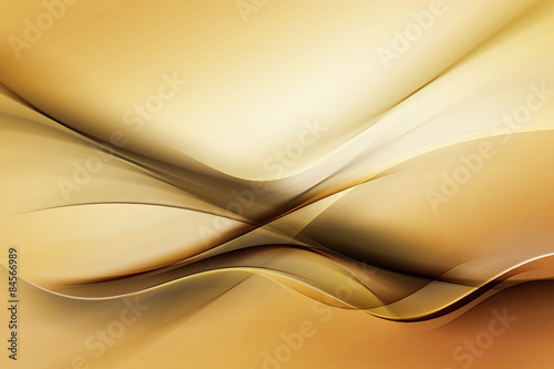 Fotobehang Fractal waves Elegant Background