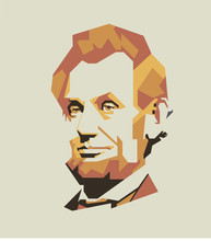 Abraham Lincoln Vector Portrait