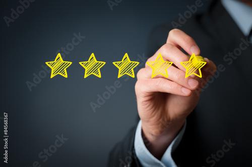 Fotografia Increase rating