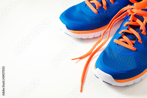 Foto  Sport running shoes
