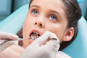 Panel Szklany Podświetlane Do dentysty Dentist, Child, Dental Hygiene.