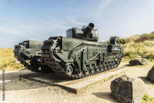 Photo  British tank