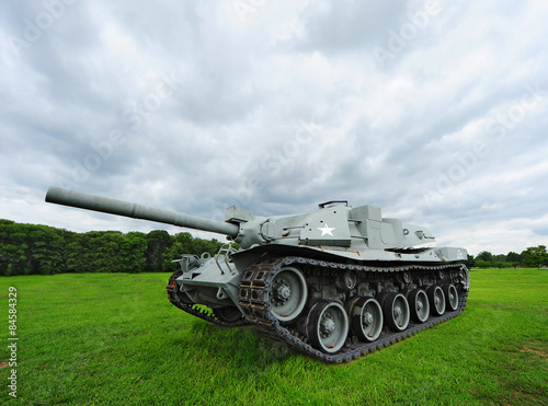 Photo  US Army World War II Tank