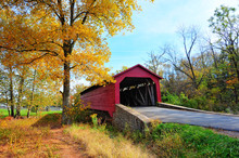 Maryland Covered Bridge In Aut...