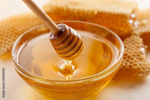 Valokuva  Honey, Honeycomb, Honey Bee.