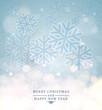Snowflakes background. EPS10, CMYK.